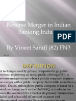 Reverse Meger in Indian Banking Industry
