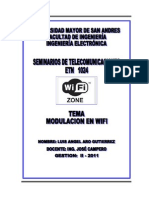 Modulacion Wifi