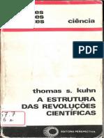Thomas Khun-A Estrutura das Revoluções Científicas