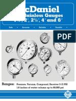 Mc. Daniel - Pressure Gauge