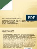 Configuración De Los Equipos De La Sala Multimedial
