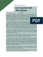 Ilán Semo. Las tres muertes del liberalismo.pdf