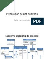 Preparación de una auditoria