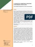 Oliveira (2009) - A aquisição da compet tradutória - diplomados x descolados