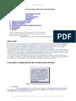 Direccion Educativa Educacion Administrativa