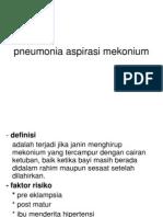 pneumonia aspirasi mekonium dan membran hialin disease.ppt