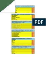Criterios de Análisis de riesgos Mosler