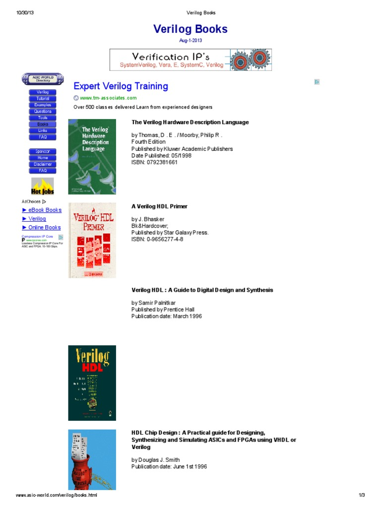 Verilog bookspdf fandeluxe Images