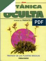 Botanica Oculta teorias de Paracelso