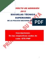 Prospecto Ets 2012