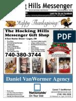 Hocking Hills Messenger, Nov 2013