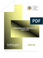DOCUMENTO N° 24 - PROGRAMACIÓN ESPECIFICA  V.0.4