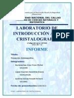 Cristalografia -proyeccion estereografica