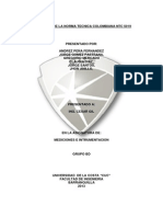 APLICACIÓN DE LA NORMA TECNICA COLOMBIANA NTC 5019