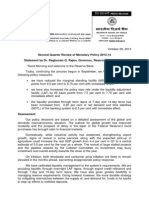 India Monetary Policy Press release 29 October 2013