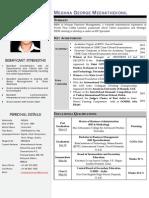 Resume-Meghna G M