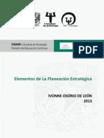 02. Elementos de La Planeacion Estrategica