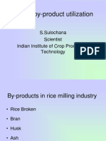 Rice Mill By-Product Utilization by S.Sulochana