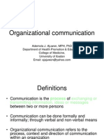 Organizational communication.ppt