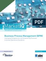 AIIM MarketIQ BPM Risetime