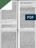Weber 2001 Ensayos Sobre Metodologia Sociologica