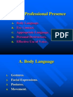 Building Professional Presence.ppt