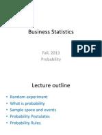 Business Statistics L2