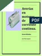 Mantenimiento y Operacion de Maquinas y Equipos Electricos 4 Apunte Averias en Motores de Corriente Continua