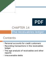 Chapter 14 - The Receivables Ledger
