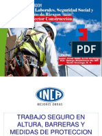Trabajos en Alturas Proteccion Perimetral y Uso de Arnes. Eduardo Mora (1)