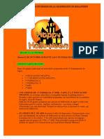 PLANIFICACIÓN DE LAS ACTIVIDADES HALLOWEEN 2013