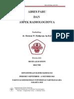 Referat Abses Paru - Michi (406117082)