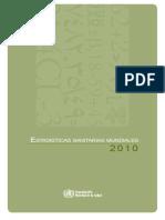 Estadisticas Sanitarias Mundiales 2010 Oms