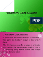 1 PERSUASIVE LEGAL ANALYSIS.ppt