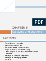 Chapter 6 - Receiving and Checking Money