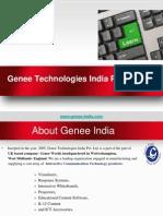 Genee Technologies- Leaders in Learning Technology