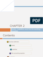Chapter 2 - Assets Liablities and the Accounting Equation