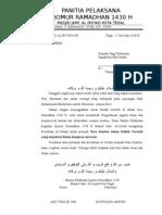 Surat kegiatan Romadhon