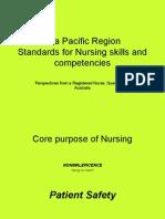 APEC Standards of Nursing Dec 2006 (Australia)