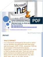 GTU approved Project Definitions in Asp.net.ppt