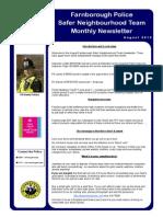 NHW Newsletter - August 2013