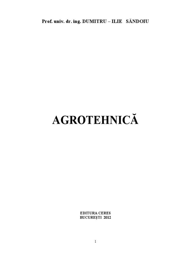 agrotehnica curs