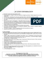 StuNed Form (Short Course - Deadline 1 Mar 10).doc