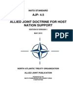 AJP - 4.5 Allied Joint Publication for Host Nation Support (2013) uploaded by Richard J. Campbell