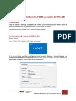 Configuración Outlook 2013 en Office 365