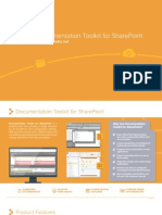Documentation Toolkit for SharePoint - Product Brochure