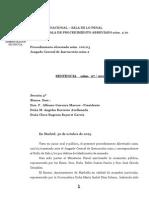 2013-10-30 Sentencia Saqueo II