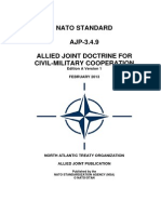 AJP-3.4.9 Allied Joint Publication for Civil-Military Cooperation (2013) uploaded by Richard J. Campbell