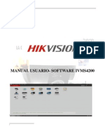 MANUAL ESPAÑOL SOFTWARE IVMS4200 POR JUAN FABIAN