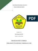 Laporan Kimia Analitik Kompleksometri